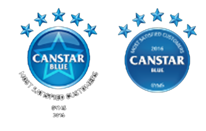 CityFitness is this year's Winner of the 2015 and 2016 Canstar Blue Most Satisfied Customers – Gyms Award